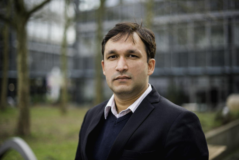 Portraitfoto von Dr. Gunjan Bhardwaj, Gründer und CEO der Innoplexus AG. Thema: KI und Blockchain