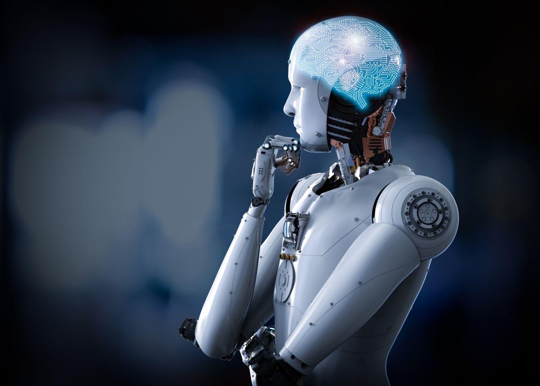 Menschlich aussehender Roboter